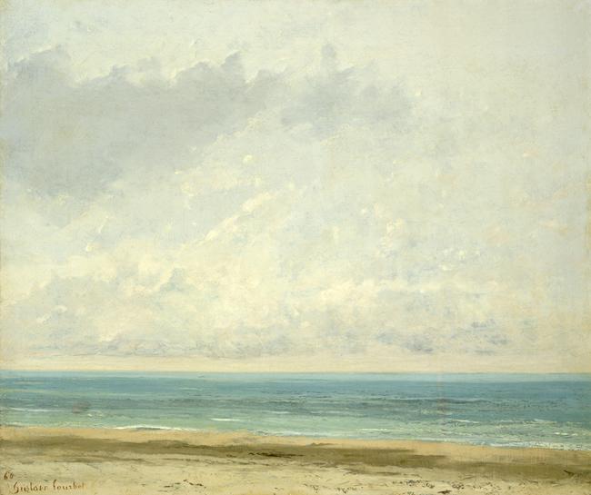 Schilderij Gustave Courbet